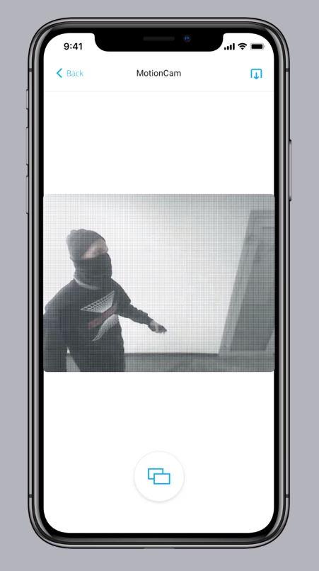 Bewegung erkannt Handy